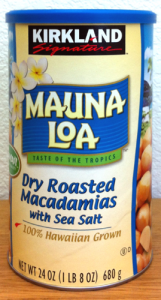 Mauna Loa Dry Roasted Macadamia Nuts with Sea Salt