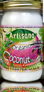 Artisana 100% Organic Raw Coconut Butter