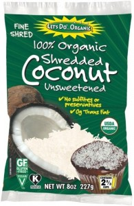 Let's Do Organic Shredded Unsweetened Coconut